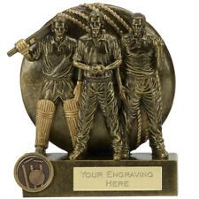 A1830B  RESIN CRICKET TROPHY SIZE 9.5 CM FREE ENGRAVING