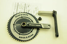 ROTOR 3D CRANKSET 3D+ BBRIGHT  53/39 165mm AERO DOUBLE CHAINRINGS 130mm CERVELO
