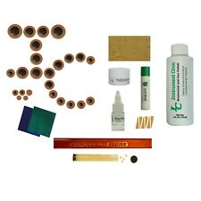 IC640 Leather Alto Saxophone Pads, Polish, Neck Cork, Complete Kit