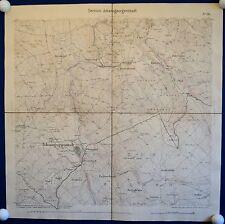JOHANNGEORGENSTADT - Generalstabskarte 1875 - sehr detailliert