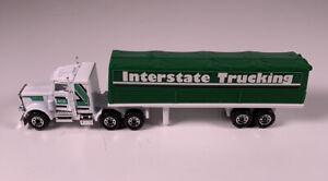 Vintage Matchbox Convoy Peterbilt Interstate Trucking Tractor Trailer Mint