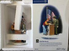 Dept 56® Snow Village Us Army® Brand New Recruit -Brand New - Still In Plastic