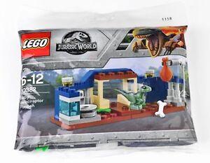 New LEGO 30382 Jurassic World Baby Velociraptor Playpen Polybag 48pcs