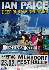 DEMON'S EYE (Deep Purple Tribute) feat. IAN PAICE Tour Poster Wilnsdorf 27.02.07