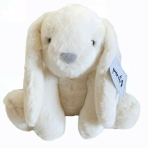 Aurora Purely Luxe Bunny Rabbit Plush New With Tags White
