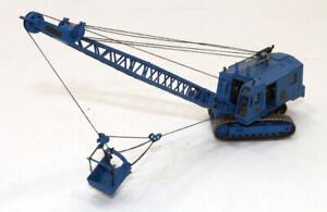mb Built Up Kibri Kit Menck M154 Dragline Excavator Construction Machine 1/87 HO