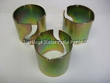 "kit of 3 MOTORCYCLE EXHAUST / MUFFLER REDUCERS reducing-1 3/4"" to1 5/8"" 1 1/2"""