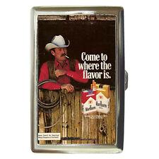 Retro Ads 1979 Marlboro Country Cigarette Money Case Credit Card Holder Rare! #2