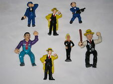 Vintage Walt Disney Lot of 7 DICK TRACY Character Collectible Action Figures
