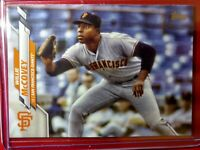 2020 Topps Series 2 Willie McCovey Photo Variation San Francisco Giants #418