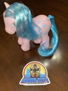 1987 Hasbro G1 My Little Pony Daddy Bright Bouquet Concave Hooves MLP