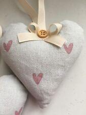 Sophie Allport Heart fabric Handmade hanging Heart
