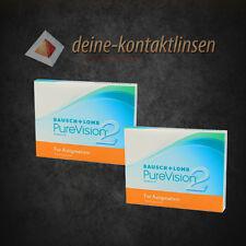 Pure Vision 2 HD for Astigmatism toric torische Kontaktlinsen 2x3 Stück