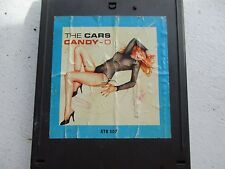 THE CARS CANDY-O 8 TRACK TAPE LET'S GO/ GOT ALOT ON MY HEAD/ ALL I CAN DO/SHOOBE