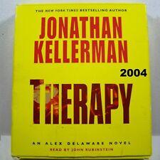Jonathan Kellerman: Therapy Alex Delaware 2004 Audiobook #18 Mystery Psychology