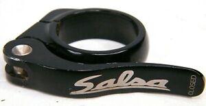 Salsa Black Flip Lock Seat Post Clamp size 36.4 mm