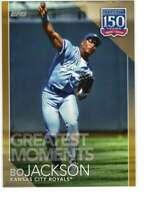 Bo Jackson 2019 Topps Update 150 Years of Professional Baseball 5x7 Gold #150-58