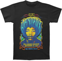 Jimi Hendrix FORT WORTH TEXAS 1969 T-Shirt NEW Authentic & Licensed