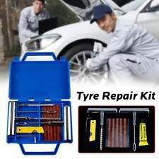 11X Tyre Tire Repair Kit Tubeless Car Auto Vehicle Motorcycle Bike Puncture Set