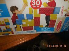 Melissa & Doug Deluxe Jumbo Cardboard Blocks (30pcs)