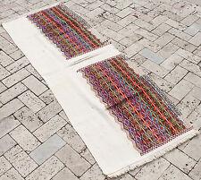 Turkish Kilim Rug 24''x69'&# 039; Vintage Runner Kilim Corridor Kilim Hallway Rug
