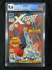 X-Force #10 CGC 9.6 (1992) - Deadpool app