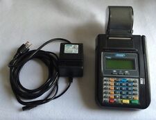 Hypercom T7Plus Credit Card Machine w/ Power Adapter Tested Works