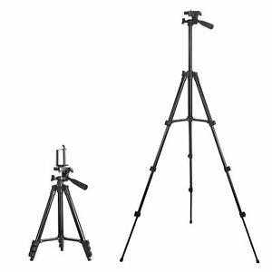 360 Professional Adjustable DSLR Camera Phone Clip Holder Tripod Mount Stand