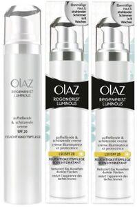 Olay (Olaz) Regenerist Luminous Brightening & Protecting Cream (2 x 50ml) SPF 20
