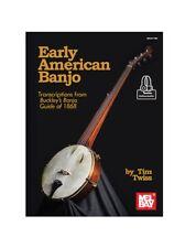 Mel Bay 30718M Early American Banjo Transcriptions from Buckley's Banjo Guide