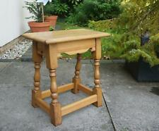 Light Oak Stool table end table side table Old Charm Titchmarsh Goodwin style