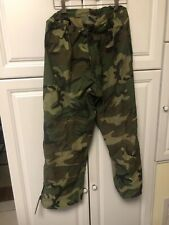 US Navy Army Gore-Tex LARGE Regular Pants Trousers