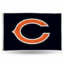 "Chicago Bears NFL Banner Flag 3' x 5' (36"" x 60"") ~ NEW"