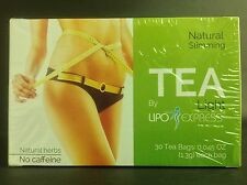 LIPO EXPRESS NATURAL SLIMMING TEA 30 BAGS WEIGHT CONTROL - TE DIETETICO
