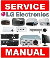 LG DLP LCD LED Home Theater Projector Service Manual and Repair Guide