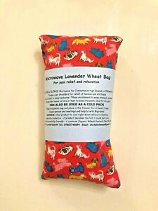 DOG & CATS COTTON MICROWAVE LAVENDER WHEAT BAG LONG NECK BACK PAIN AROMATHERAPY