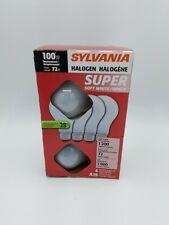 Sylvania 72w Halogen Super Soft White Bulb, A19
