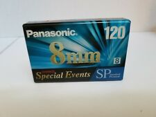 Panasonic 8MM 120 Minute Camcorder Video Tape NV P61120SP Special Events NEW!