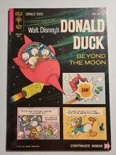 Donald Duck #87 - April 1963 Gold Key - Walt Disney - Gladstone - VF+ Moon Cover