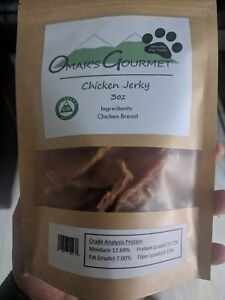 Chicken jerky dog chews toys healthy handmade grain free dog treats dog gifts