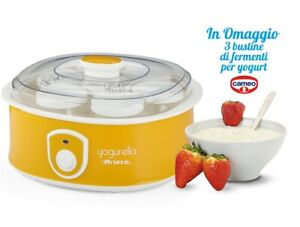 Yogurtiera Ariete Yogurella 0617/00 Capacità 1,3 L yogurt 7 vasetti
