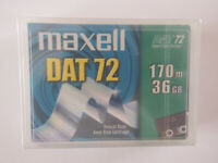 Maxell DAT72 / DAT 72 Data Tape/Cartridge 36/72GB 4mm 400147 NEW