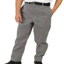 Phoenix Chef's Pants, Black/White Check, Small,28x30 by White/Black