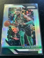 2018-19 Prizm Jaylen Brown Silver #108 Celtics