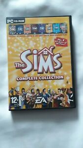 THE SIMS COMPLETE COLLECTION PC GAME, ORIGINAL FIRST SIMS AND ALL EXPANSIONS,VGC