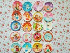 20 x Bargain MIX Disney Princess Flatback Planar Resin Embellishment Hair bow