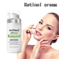 Retinol Vitamin E Hyaluronsäure Feuchtigkeitscreme gegen Falten, feine Linien