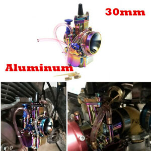 PWK 30mm Power Jet Carburetor CARB For 150cc 200cc Pit Dirt Bike  Mini Quad ATV