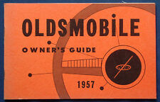 Owner's Manual Guide * Betriebsanleitung  1957 Oldsmobile   (USA)