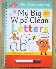 Learn to write letters handwriting my big wipe clean book children 3+ Pre school